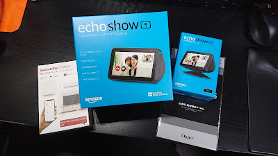 Echo Show 5と仲間たち