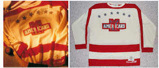 NHL CCM Heritage Jersey Collection - New York Americans circa 1938