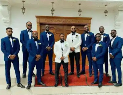 How Juliet Ibrahim, Rita Dominic, Others Stepped Out For Williams Uchemba