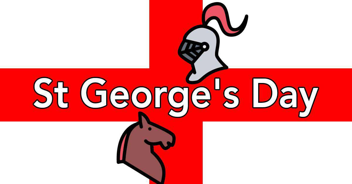 St. George's Day Wishes Beautiful Image