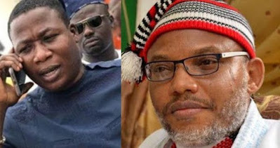 Biafra leader, Nnamdi Kanu reacts to IGP's order for the arrest of Sunday Igboho