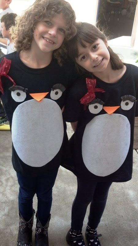 Jilliene Designing Easy Kid Penguin Costumes