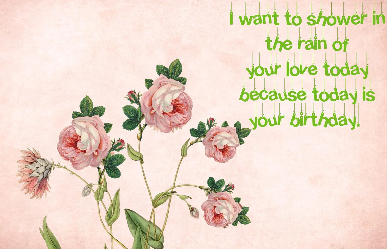 Hot birthday wishes for girlfriend