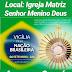 Vigília pela Nação Brasileira será realizada na Paróquia Senhor Menino Deus, em Aurora