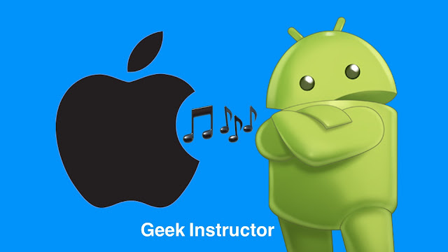 Set iPhone ringtone on Android
