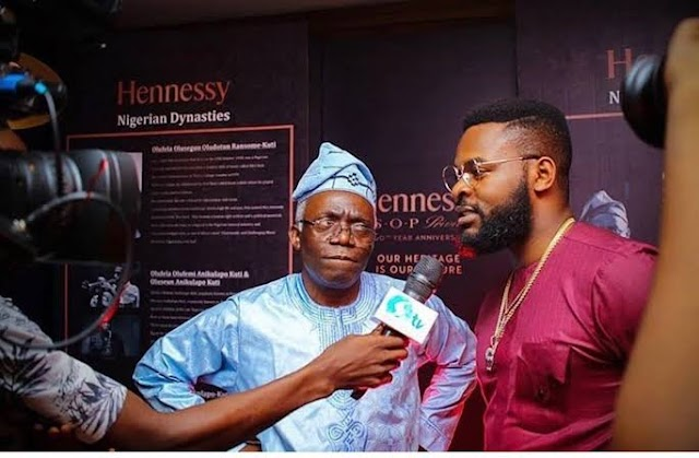 Femi Falana is so proud of Nigerian youths & his son, Falz