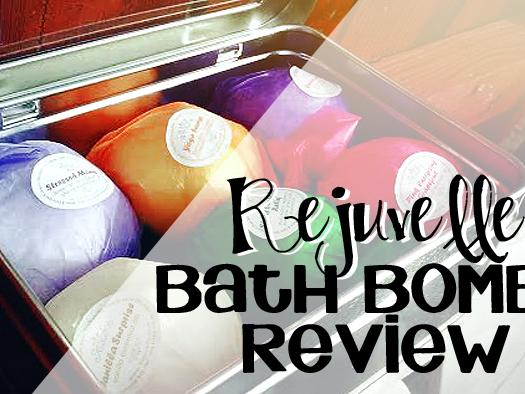 Rejuvelle Bath Bombs Review