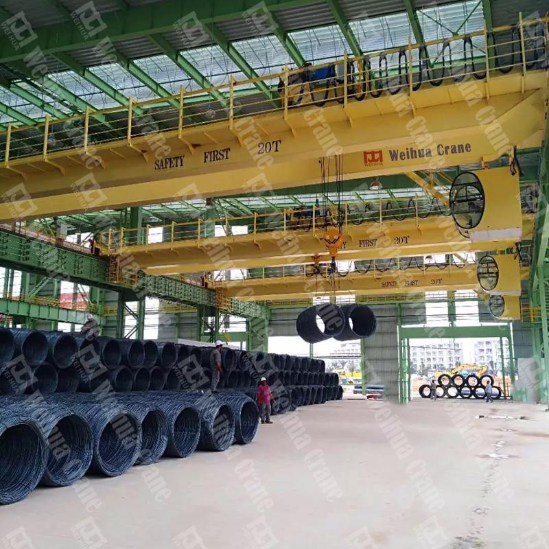 Weihua Cranes: Weihua Crane for Alliance Steel (M) SDN BHD