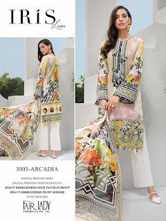 FairLady Iris 2020 Lawn Pakistani Suits Collection