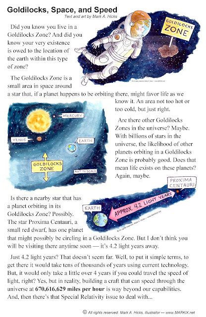 Goldilocks, Space, and Speed