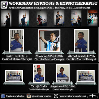 Workshop Hypnosis Surabaya, Pelatihan Hypnosis Surabaya, Hypnotherapist Surabaya, Klinik Hypnosis Surabaya
