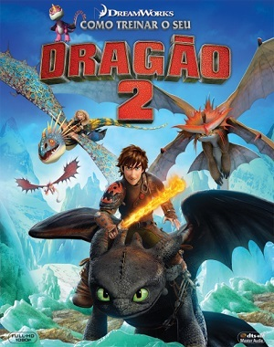 Como Treinar o seu Dragão 2 Blu-Ray Filmes Torrent Download capa