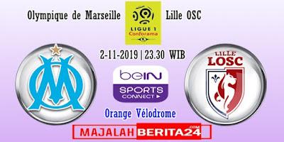 Prediksi Marseille vs Lille — 2 November 2019