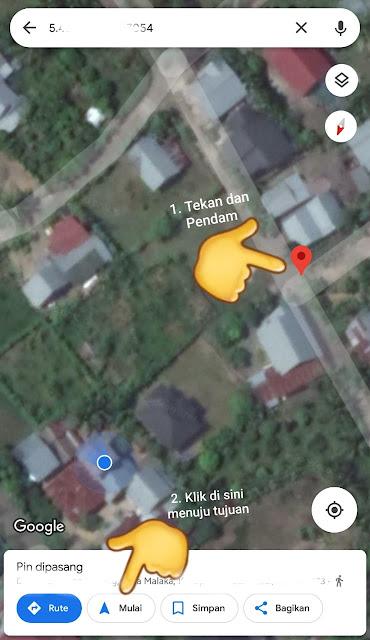 Tidak Tau Lokasi Tujuan Perjalanan? Cara Memakai Aplikasi Google Maps GPS Tanpa Sesat