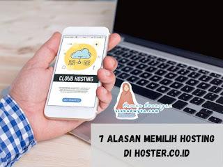 Alasan memilih hosting di hoster.co id