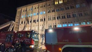 Bệnh viện ở Romania Cháy, 7 bệnh nhân COVID-19 chết