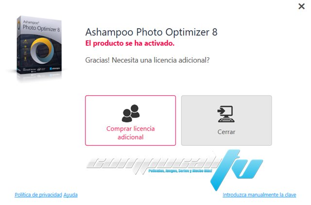 Ashampoo Photo Optimizer Versión Full Español