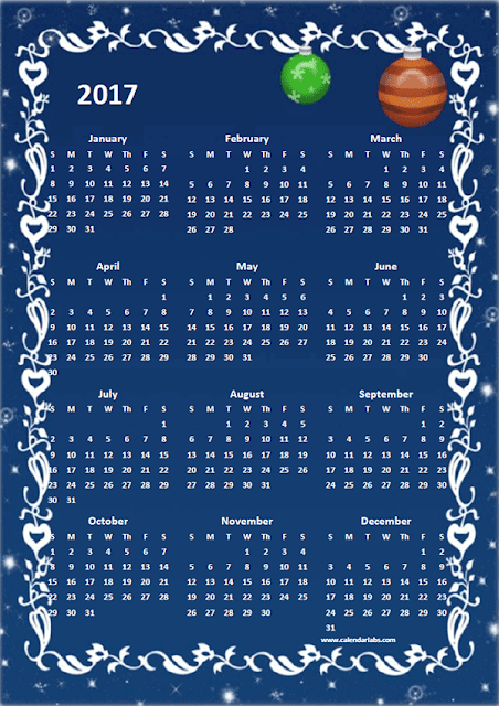 New Year 2017 Calendar Pictures Wallpapers