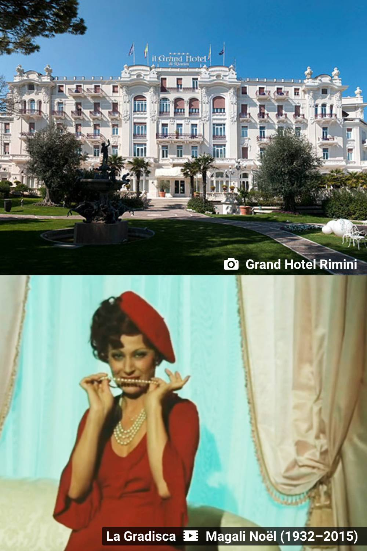 ambiente de leitura carlos romero jose mario espinola cronica de viagem turismo italia surpresa fellini felliniana cesenatico amarcord tour grand hotel