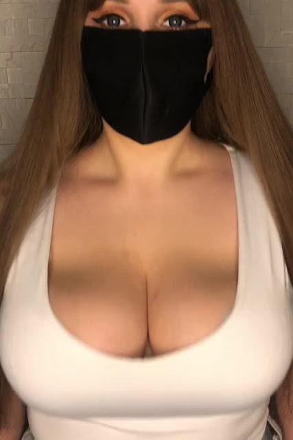 Busty Girl Braless Sexy Top Bouncing And Revealing Big Tits Gif Pic