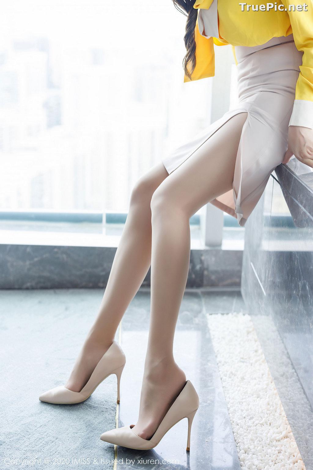 Image IMISS Vol.494 - Chinese Model - Lavinia肉肉 - Beautiful Long Legs Secretary - TruePic.net - Picture-9