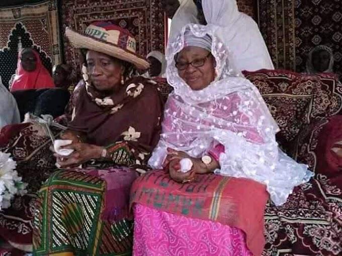 News: Congregation to Haj. Hauwa Umar Sanda Ndayako  the new Ninwoye Nupe