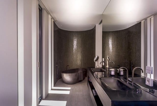 Attach Toilet Bathroom Design