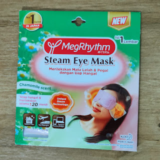 MegRhythm steam eye mask chamomile