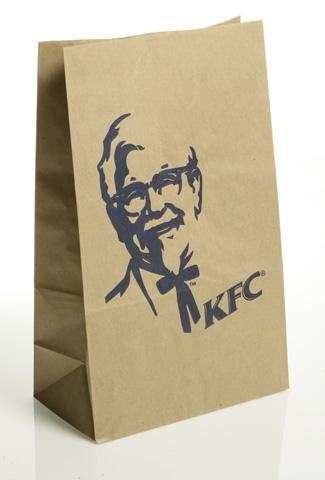 túi giấy đựng thực phẩm kraft