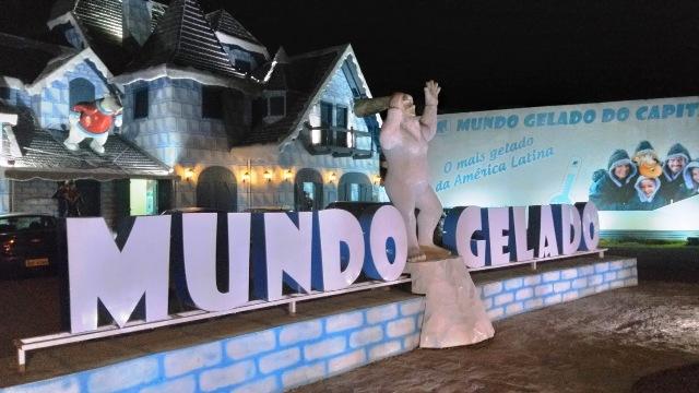 Primeiro Parque Temático de Gelo da América Latina - Ice Bar Mundo Gelado, em Canela