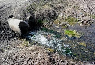 Река Сенная. Водосбросы