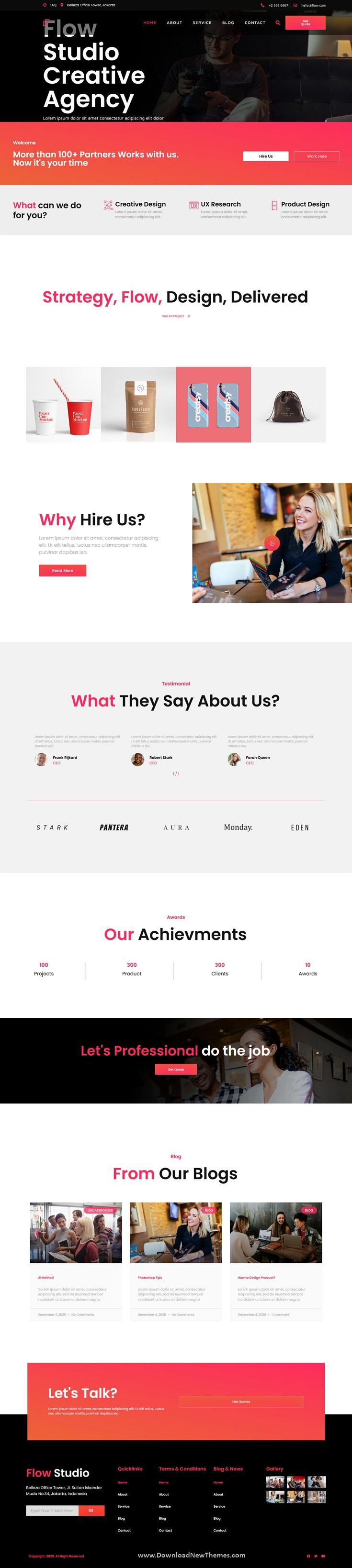 Creative Agency Business Elementor Template Kit