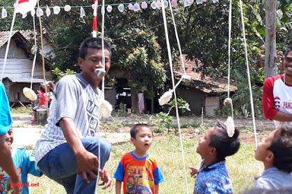 Kemeriahaan 17 Agustus Di Desa Sarimulyo Kabupaten Lampung Selatan