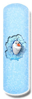 Alfabeto de Olaf para Imprimir Gratis. Frozen Olaf Letters.