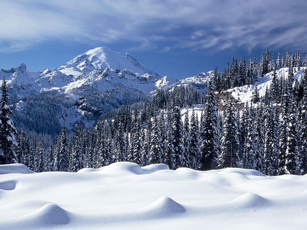 Mountains Resolution High Snow