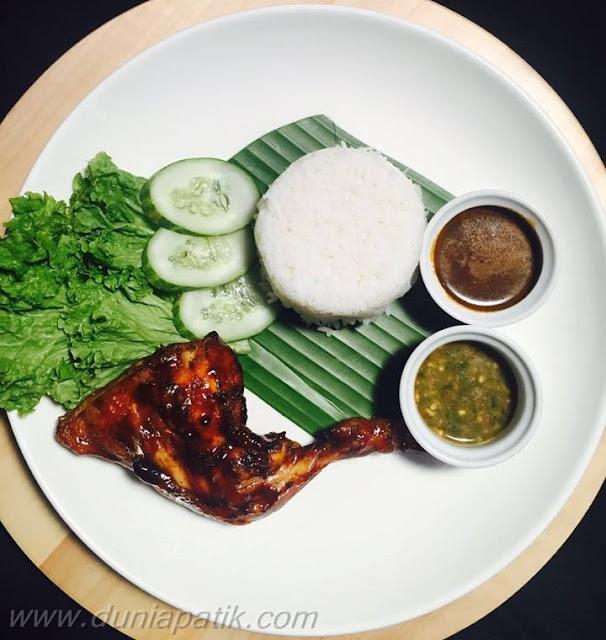 Nasi Kukus Ayam Bakar