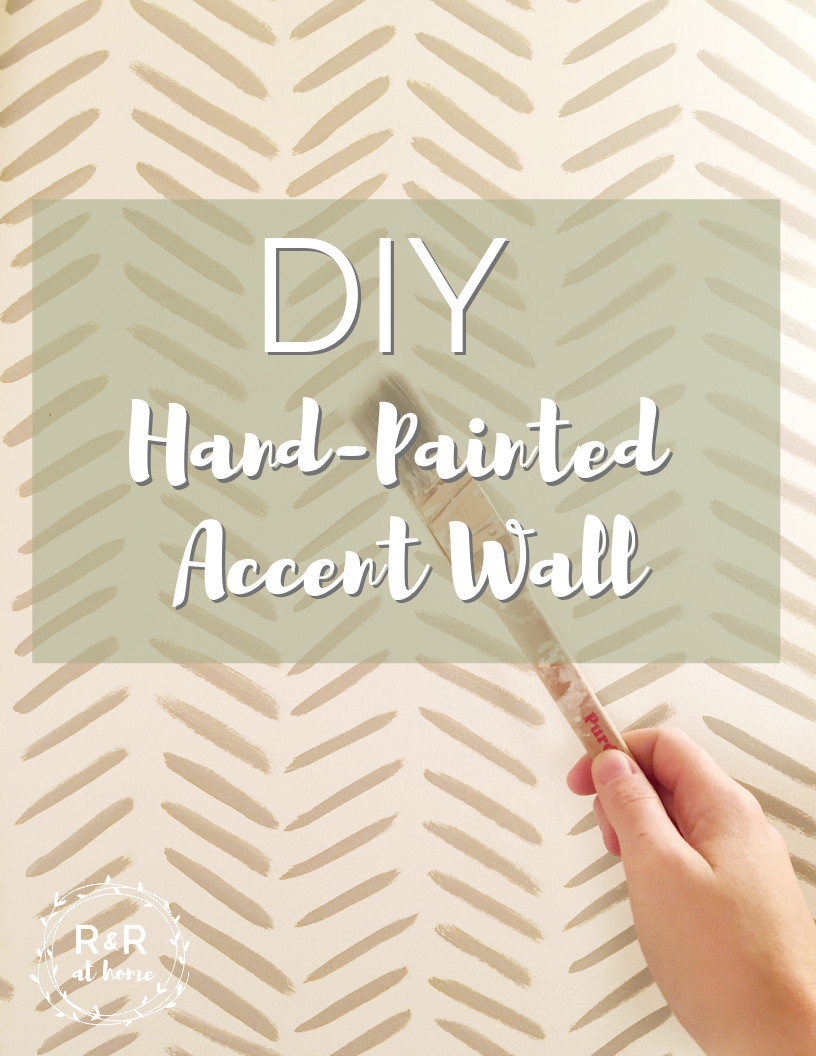 100 Room Challenge Week 2 Hand Painted Accent Wall R R At Home