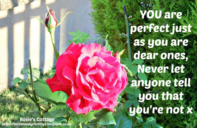 You are perfect dear ones x