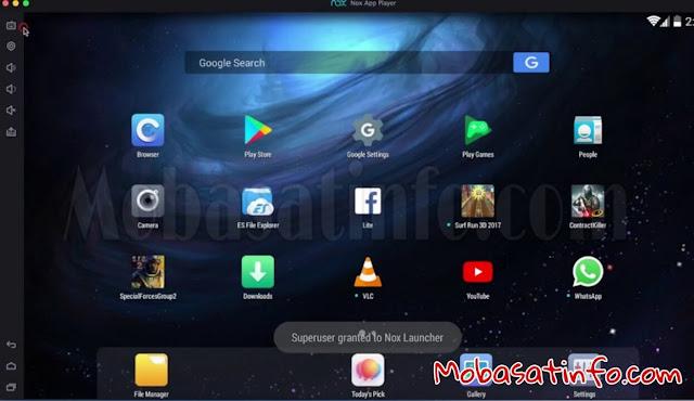 محاكي الأندرويد Nox Player Emulator للكمبيوتر