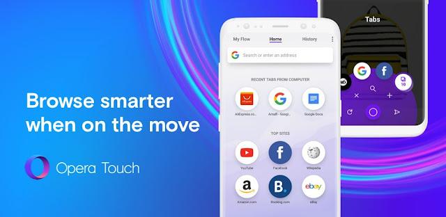 Opera Touch تحميل Opera Touch PC أوبرا تحميل متصفح اوبرا الابيض تحديث أوبرا Opera Mini تنزيل متصفح تنزيل ميني