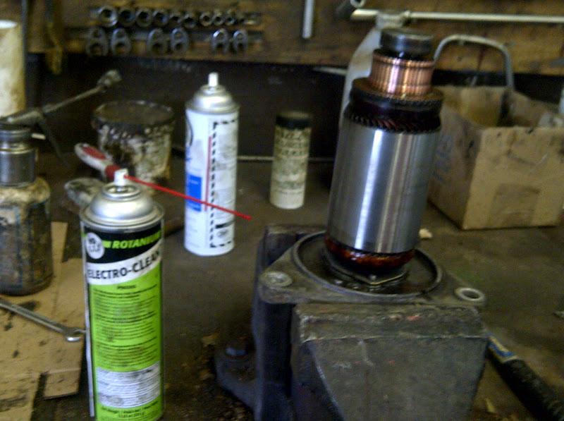 Bobs Shop Club Car starter/generator brushes