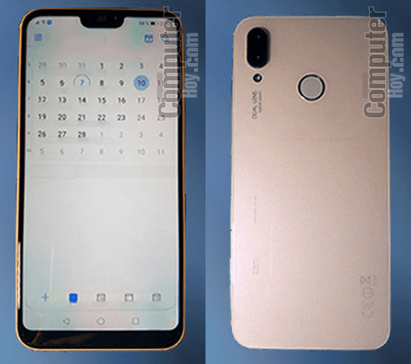 Live images of Huawei P20 Lite with notch appeared