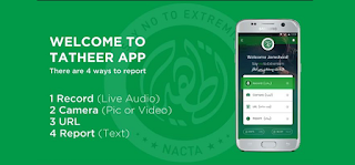 NACTA Introduced Apps for Citizens of Pakistan