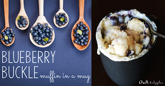 Blueberry Buckle - Muffin in a Mug