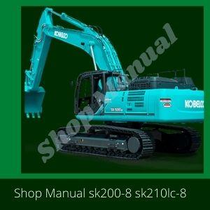 Shop Manual Kobelco SK200-8 SK210LC-8