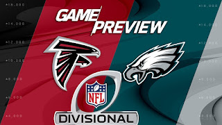 Falcons Eagles NFL Playoffs Divisional Round Simulation
