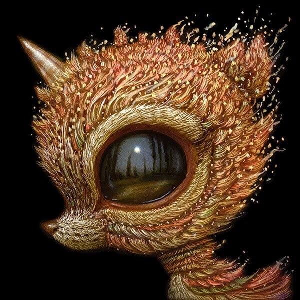 05-Baby-unicorn-Surreal-Creature-www-designstack-co