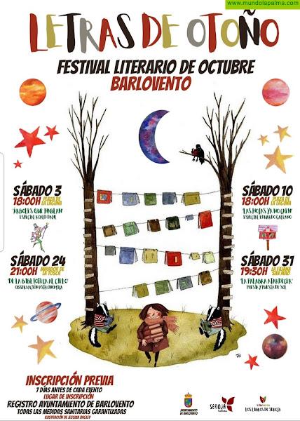 'Letras de Otoño' es la propuesta literaria para el mes de octubre del municipio de Barlovento