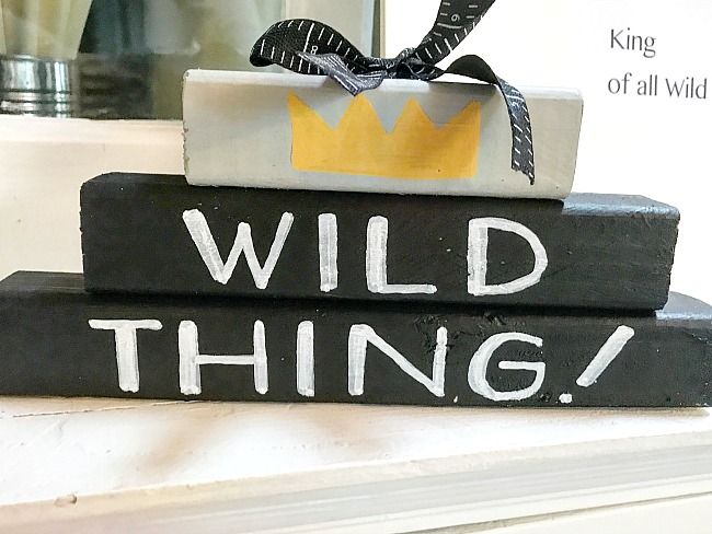 block sign for Wild thing
