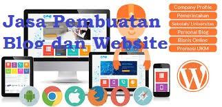 Jasa pembuatan Blog atau Website